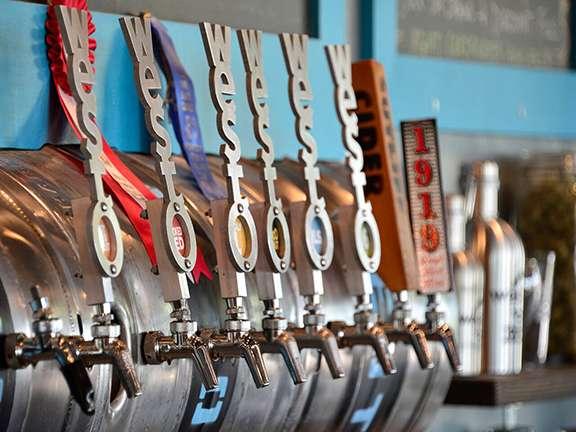 West Okoboji Beer Taps