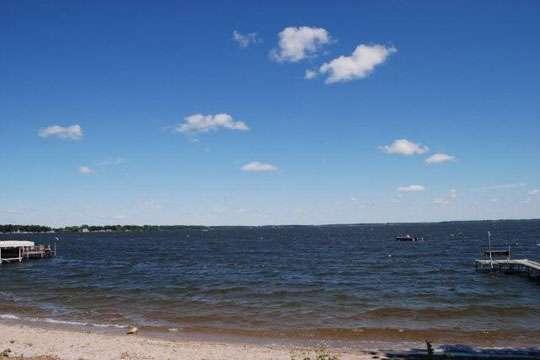 Spirit Lake Pump House Beach