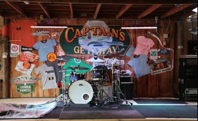 Captains Getaway stage