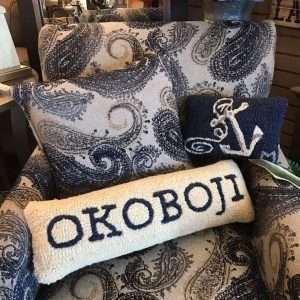 Chair with Okoboji pillow
