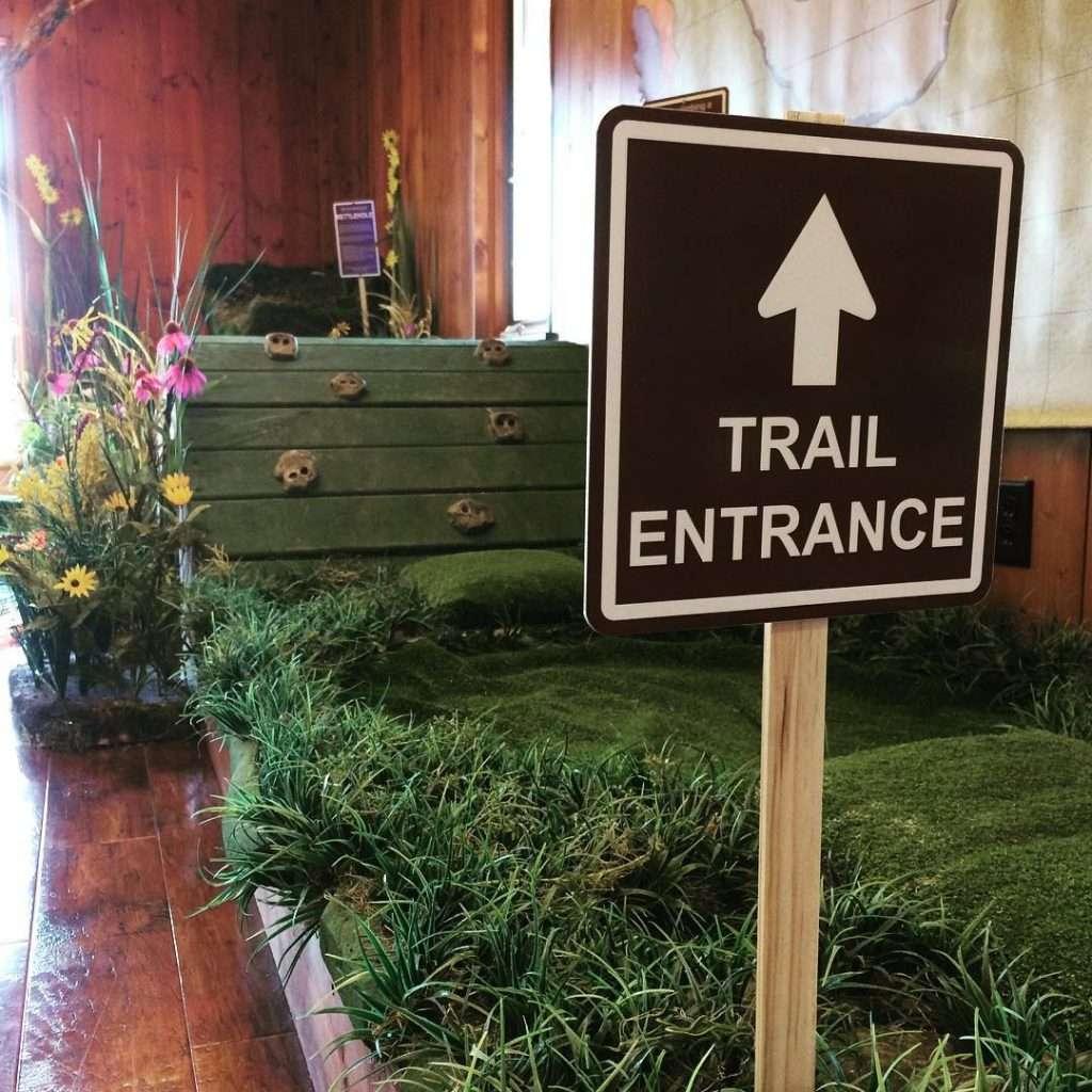 Nature Center Trail Entrance