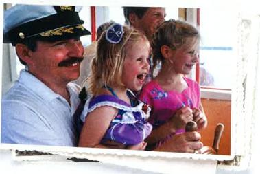 Queen captain with girls