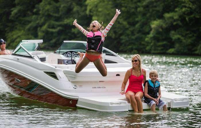 kids boating