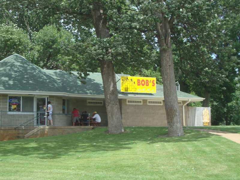Bob's in Arnold's Park - hot dogs and more