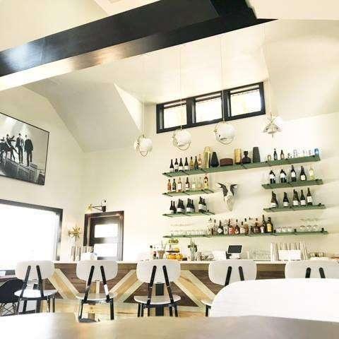 Indoor fancy bar