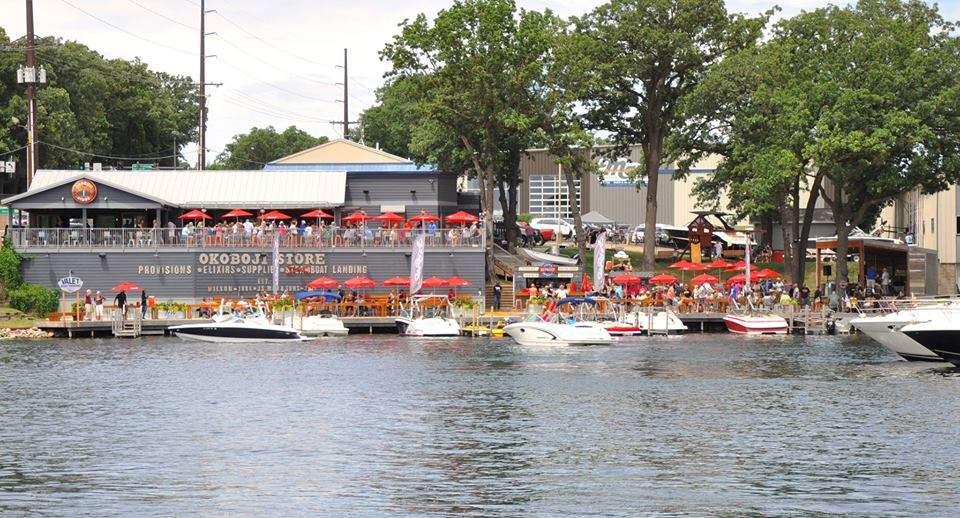 Okoboji Store Docks