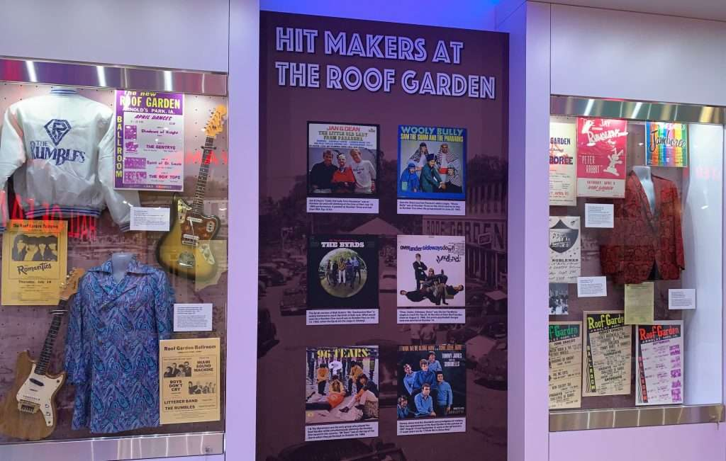 Rock n Roll Museum Exhibit