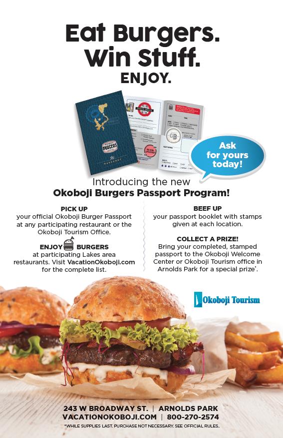 Burger Passport Poster