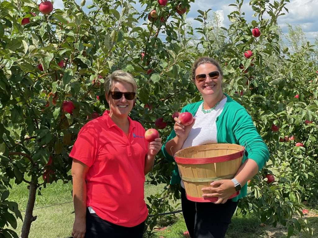 Little Sioux Orchard in Okoboji, Iowa