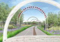 Arnolds park Promenade