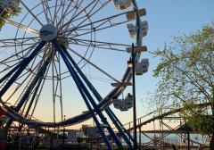 Virtual Ferris Wheel Backdrop Picture